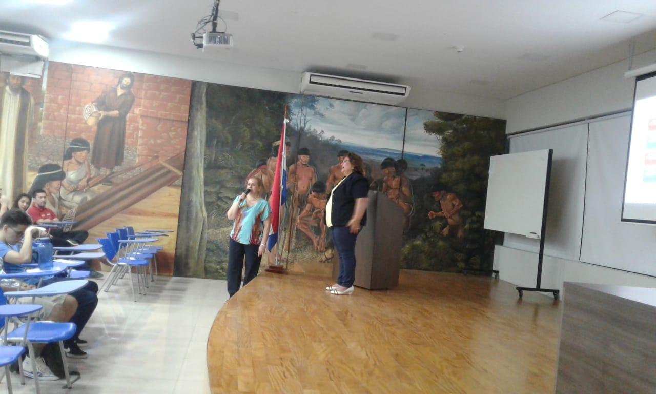 Charla Universidad Politecnica y Artistica del Paraguay